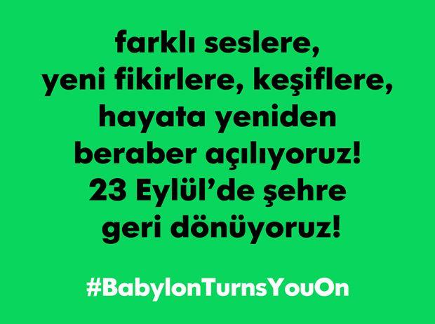 """Babylon """"Açık Ol"""""""