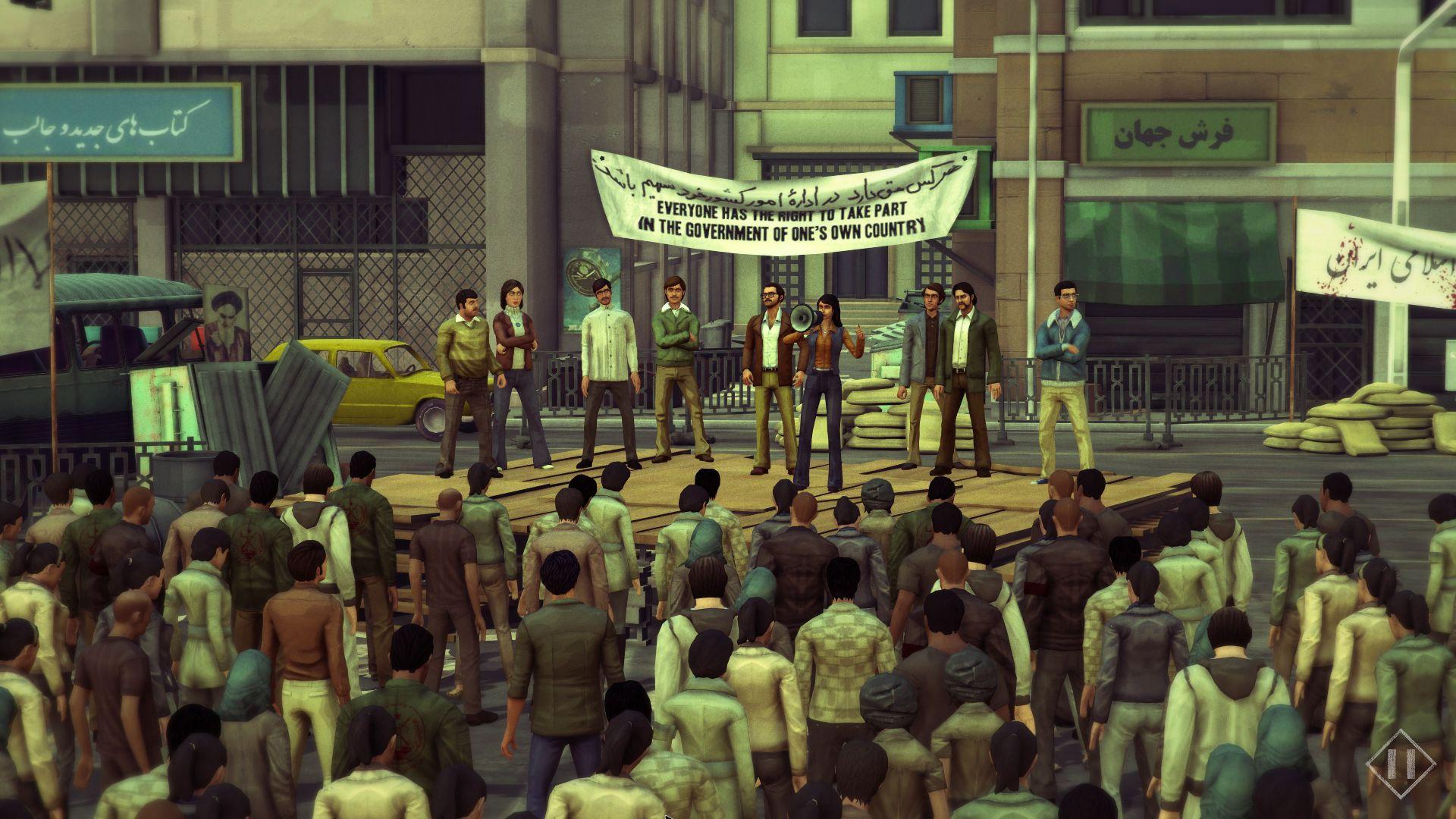 1979 REVOLUTION Iran'da Engellendi