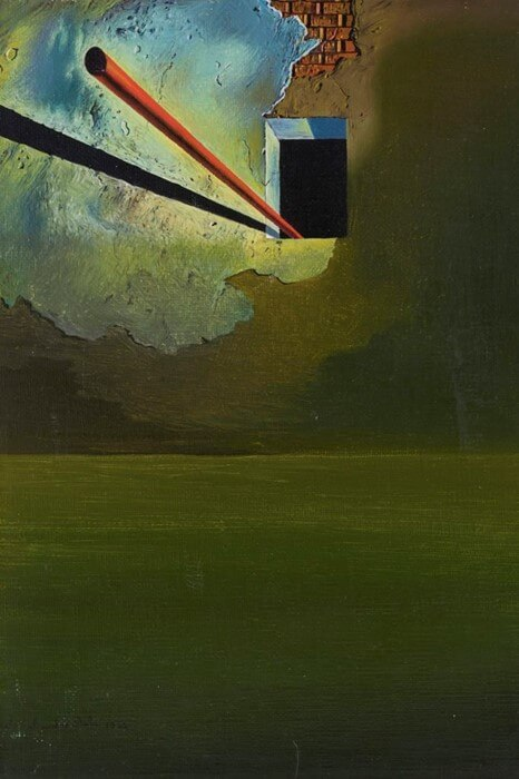 Salvador Dali - Morphological Echo