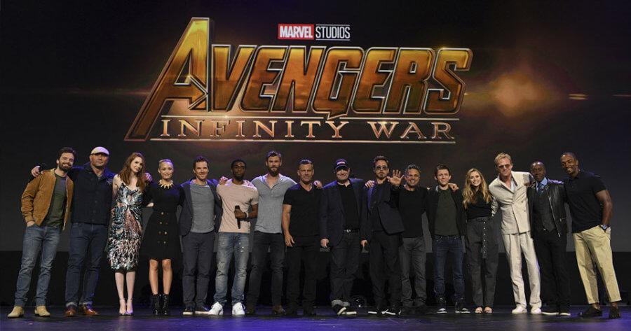 Avengers : Infinity War Cast Photos - Avengers: Infinity War Yeni Fragman ve Ayrıntılar