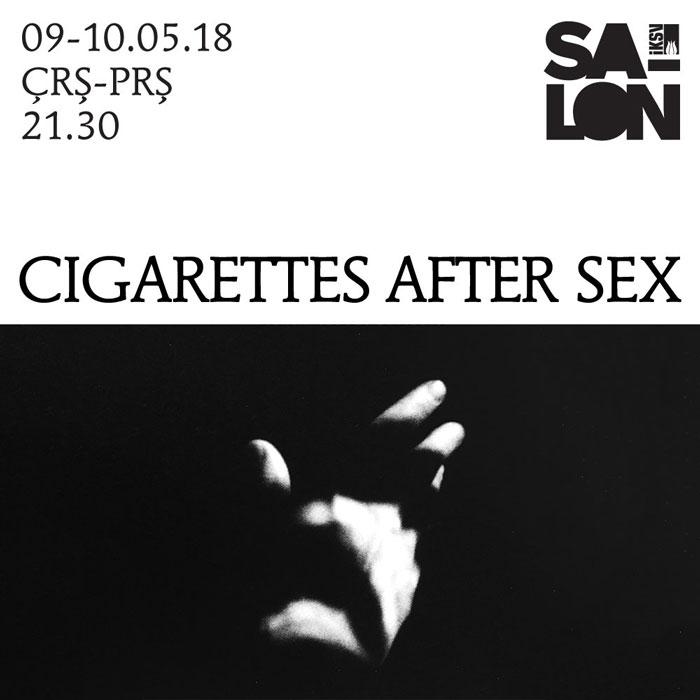 Cigarettes After Sex 9-10 Mayıs İKSV Salon