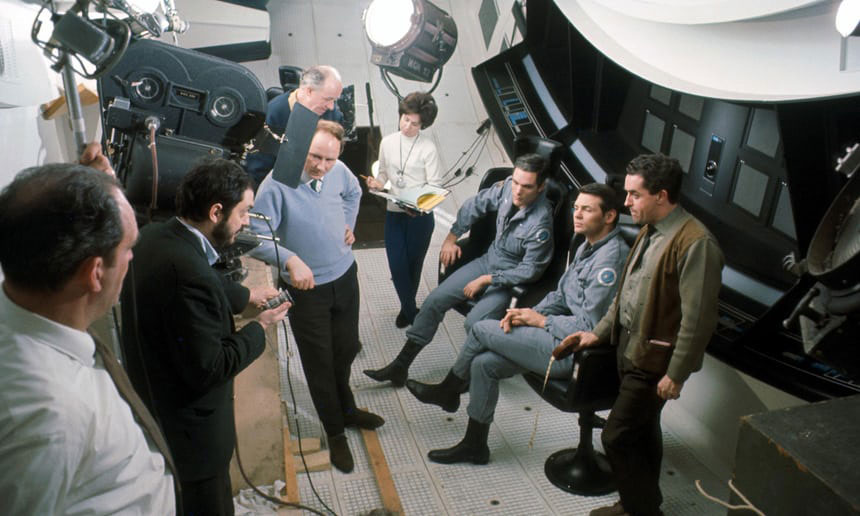 Weird, Unseen Images from the Making of 2001: A Space Odyssey