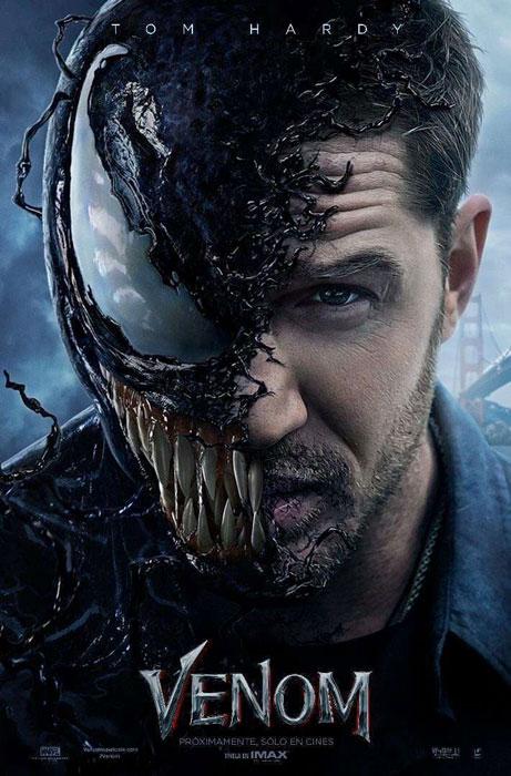 Tom Hardy Venom Movie Poster