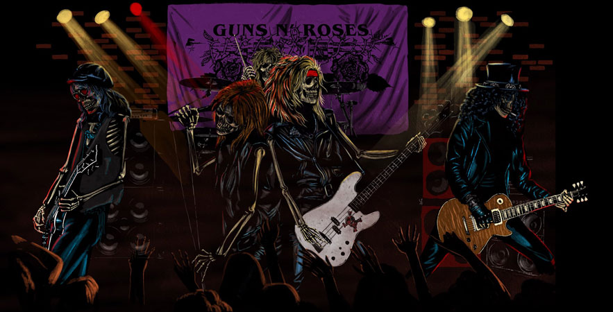 Guns' N' Roses It's So Easy