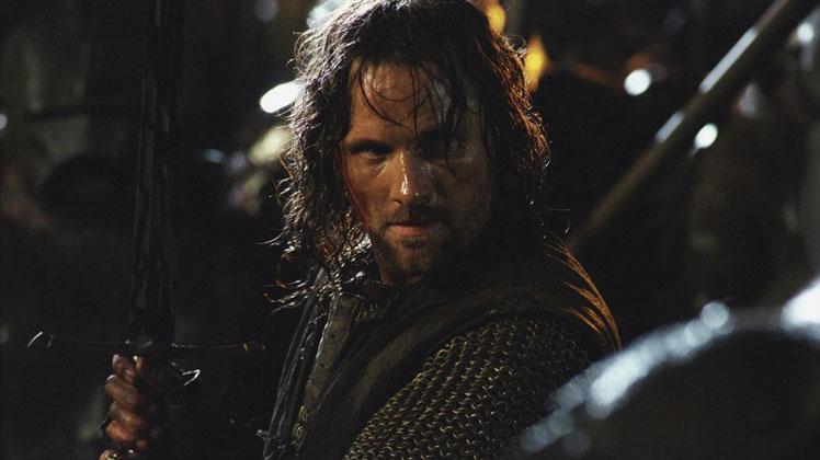Amazon Yüzüklerin Efendisi Dizisi Aragorn