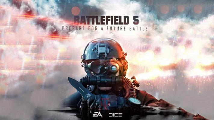 İkinci Dünya Savaşına Odaklanan Battlefield 5'in Fragmanı Yayınlandı