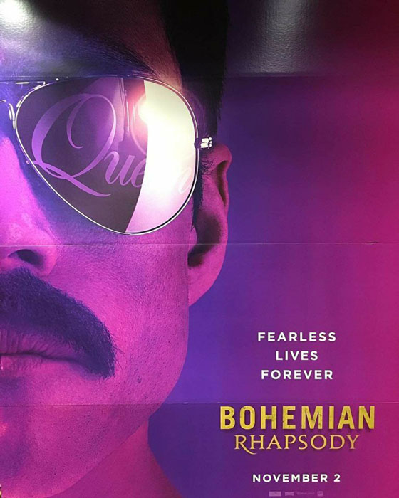 Rami Malek Bohamian Rhapsody Movie Poster