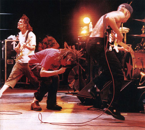 Rage Against The Machine Band Jumping