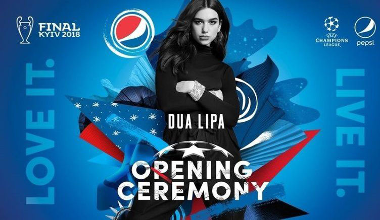 Dua Lipa to Perform at UEFA Champions League Opening Ceremony