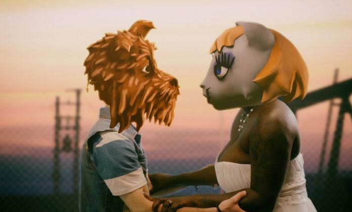 Arcade Fire Grubundan Chemistry Şarkısına Şirin Animasyon Klip