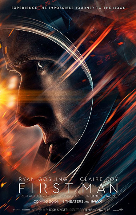 First Man Movie Details and Poster