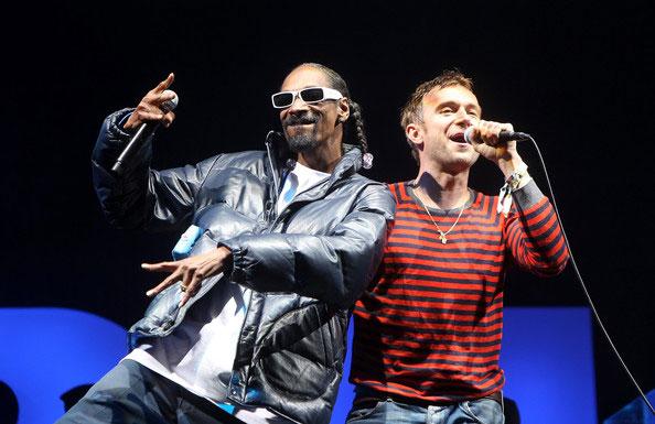 Gorillaz ile Snoop Dogg Hollywood Adlı Şarkıyı Yayınladı