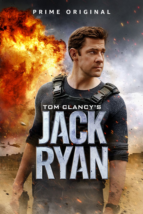 Tom Clancy's Jack Ryan John Krasinski Poster