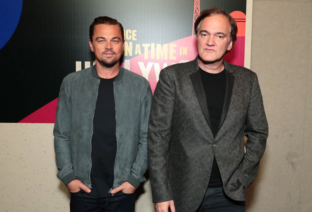 Leonardo DiCaprio ve Tarantino Once Upon A Time in Hollywood