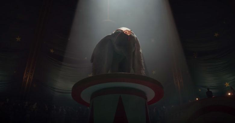 Tim Burton'un Yeni Filmi Dumbo İçin İlk Fragman!