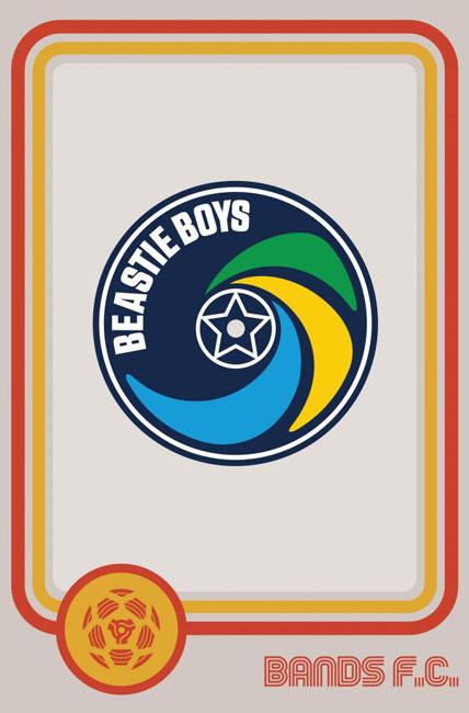 Tim Burgees Bands F.C. Football Logos Beastie Boys