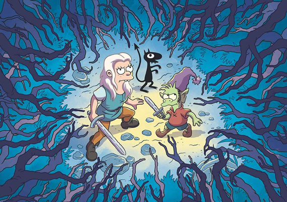 Watch the first trailer for Disenchantment, Matt Groening's animated Netflix show