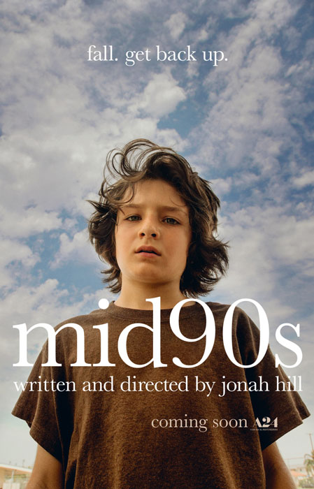 Mid90's Movie Trailer Poster and Director Jonah Hill