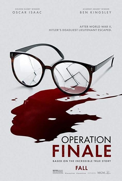Operation Finale Film Poster Ben Kingsley, Oscar Isaac