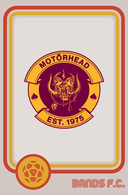 Tim Burgees Bands F.C. Football Logos Motörhead