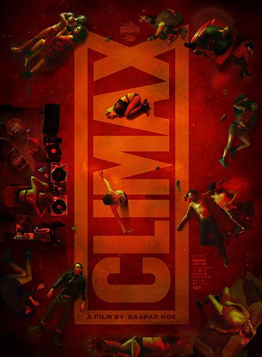 Gaspar Noé's Dance Horror Film Climax Poster