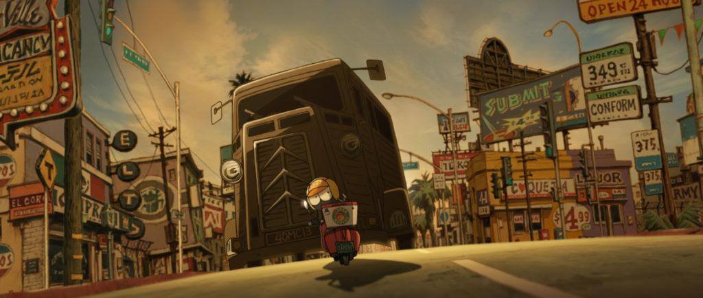 Vince Staples'in Oynadığı MFKZ Animesinden İlk Fragman