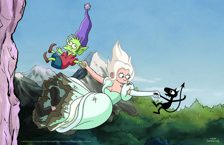 Netflix Confirm Disenchantment for Another 2-Part for New Season 2
