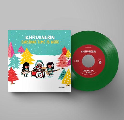 Khruangbin Cover for Christmas Time Is Here: Listen