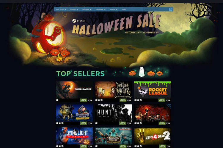 Steam Halloween Sale 2018 is Live and the Discounts Are Real