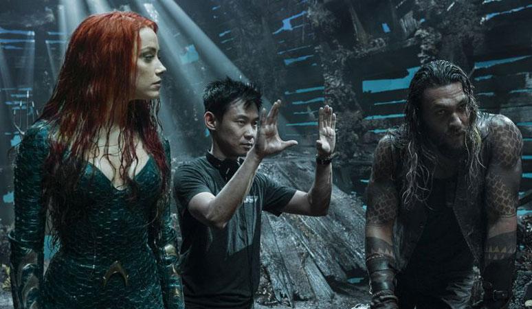 Aquaman Filminin Kamera Arkası Görüntüleri