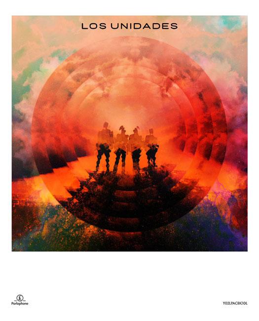 las unidades coldplay album cover