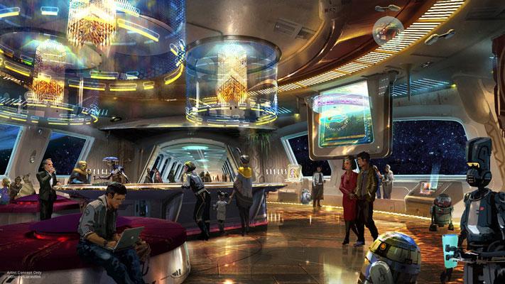 Star Wars: Galaxy's Edge Theme Park Disneyland