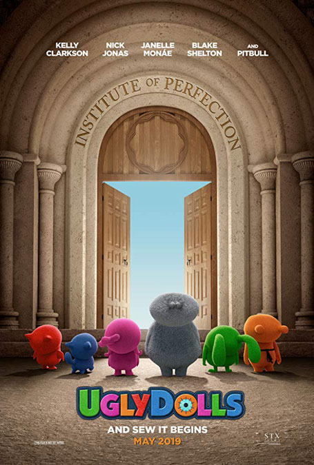 First Trailer for UglyDolls Animated Movie from Director Kelly Asbury