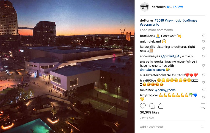 deftones 2019 yeni albüm yeni şarkı geliyor : dinle