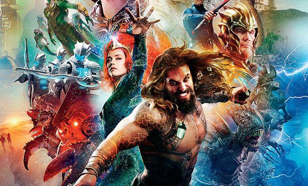Jason Momoa'lı Aquaman Gişe Rekorları Kırmaya Devam Ediyor! (Video)