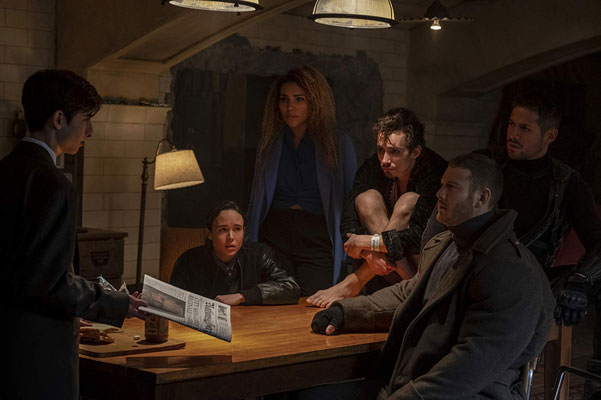 The Umbrella Academy 15 Şubat'ta Netflix Ekranlarında! (Fragman)