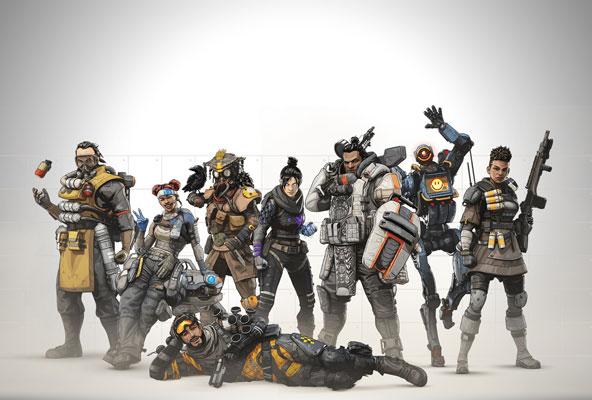 Ücretsiz Oyun Apex Legends 10 Milyon Kullanıcıyla Rekor Kırdı! (Video)