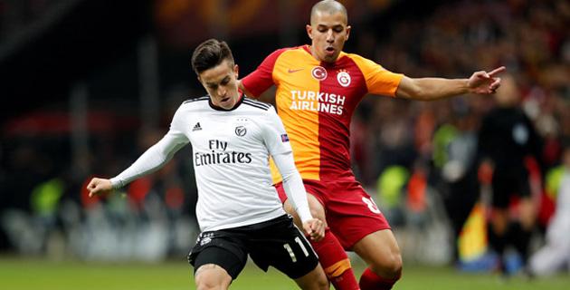 Galatasaray: 1 - Benfica: 2 maç sonucu, özeti, goller ve detaylar izle!