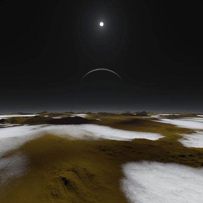 plüton gezegen güneş sistemi