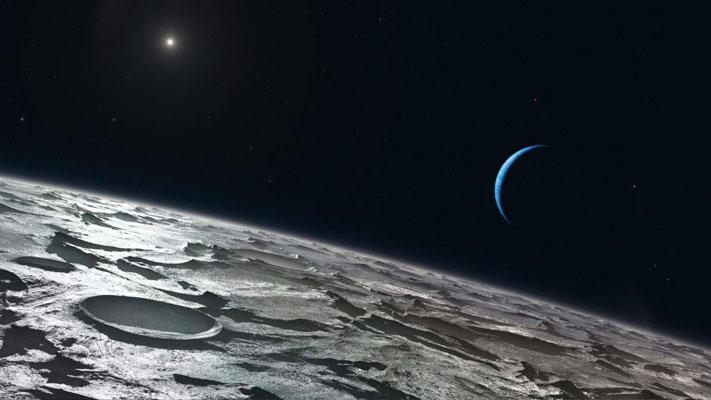 neptün gezegen güneş sistemi