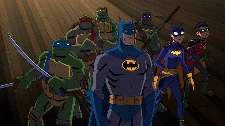 Batman Vs. Teenage Mutant Ninja Turtles Fragmanı Yayında! (2019)