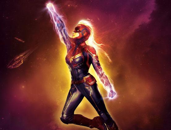 Captain Marvel İlk Haftasında 455 Milyon Dolar ile Gişe Rekoru Kırdı!