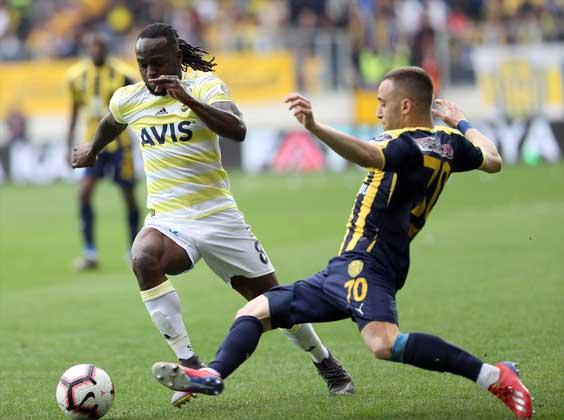 Ankaragücü: 1 - Fenerbahçe: 1 maç özeti, maç sonucu ve golleri izle!