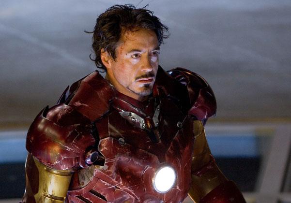 Iron Man filminin başrolü Robert Downey Jr'ın deneme çekimi (Video)