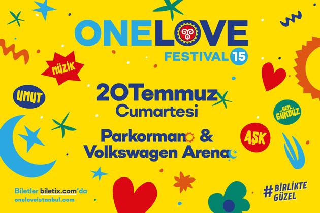 One Love Festival 15'te bu yıl yer alacak gruplar ve sanatçılar listesi