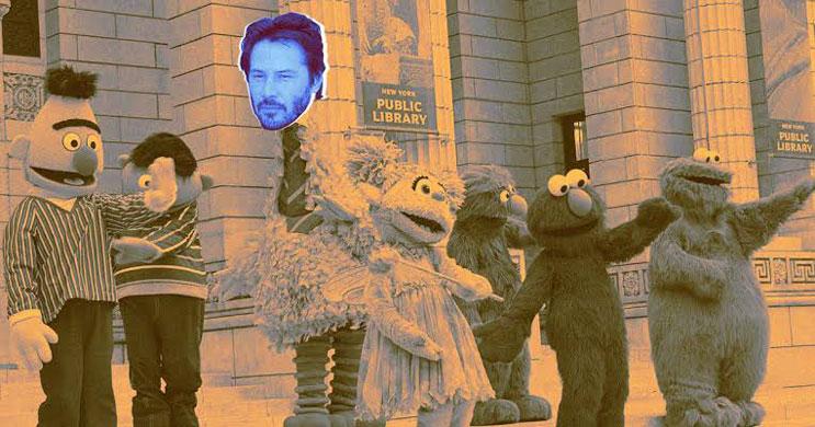 Keanu Reeves, Deepfake ile Susam Sokağı'nda yer aldı (Video)