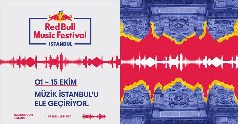 Red Bull Music Festival İstanbul programı ve sanatçıları belli oldu!
