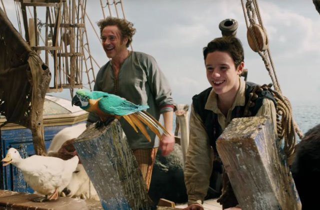 Başrolde Robert Downey Jr.'ın oynadığı Dolittle fragmanı yayınlandı!