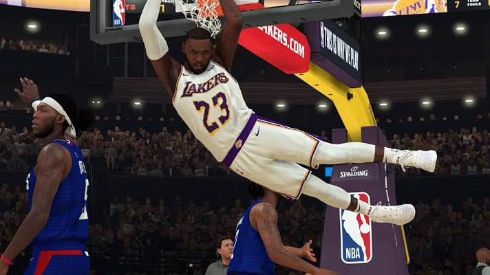 NBA 2K20 Rakipsiz Basketbol Oyunu