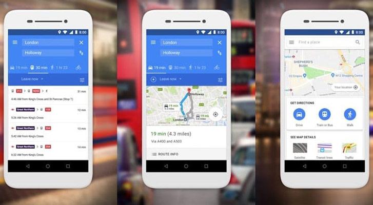 Google Maps Uygulaması
